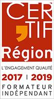 Certification Région 2017-2019 Formateur indépendant